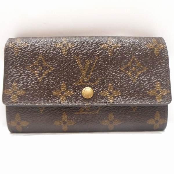 ルイヴィトン Louis Vuitton モノグラム ポルト モネ ジップ M61735 財布 2つ折り ★送料無料★【中古】【あす楽】