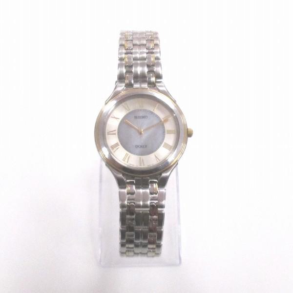 セイコー ドルチェ クォーツ V181-0AC0 時計 腕時計 メンズ ★送料無料★【中古】【あす楽】