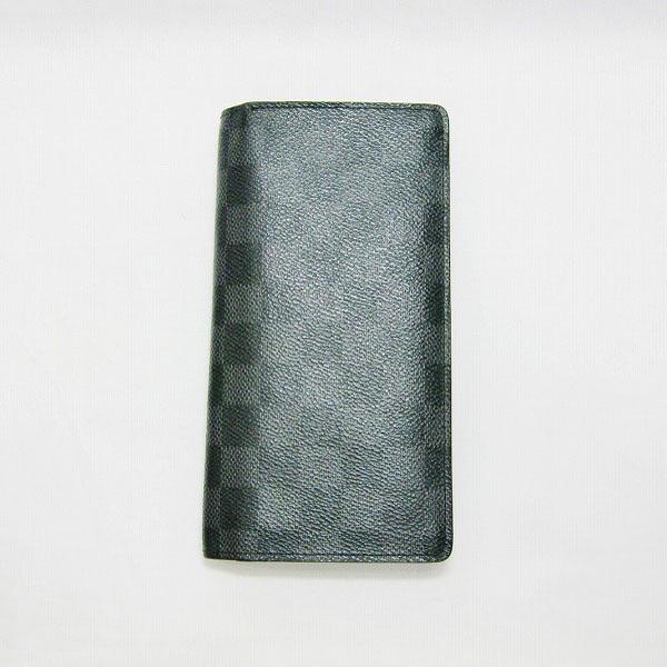 ルイヴィトン Louis Vuitton ダミエグラフィット ポルトフォイユプラザ N62665 財布 長財布 メンズ ★送料無料★【中古】【あす楽】