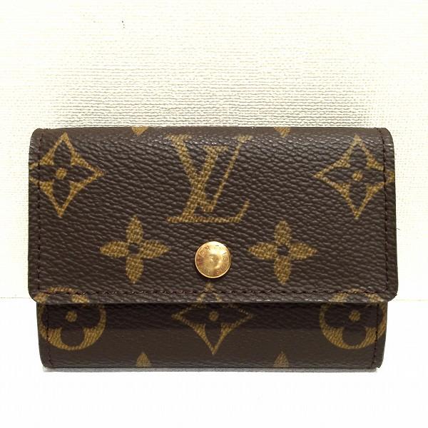 ルイヴィトン Louis Vuitton モノグラム ポルト モネ プラ M61930 財布 ★送料無料★【中古】【あす楽】