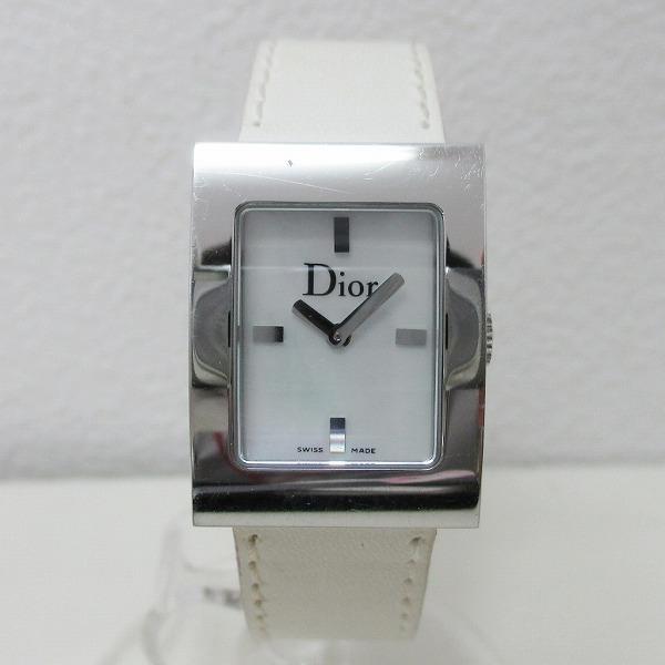 ディオール マリス レディース腕時計 D78-109 ホワイトシェル文字盤 クォーツ ★送料無料★【中古】【あす楽】