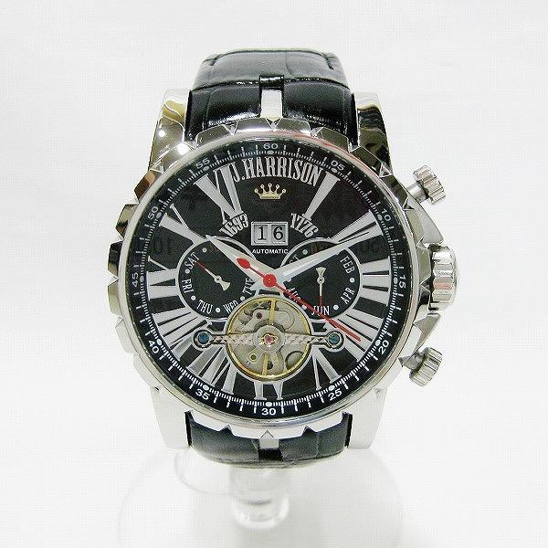 ジョンハリソン 自動巻き J.H-033C メンズ腕時計 時計 腕時計 メンズ ★送料無料★【中古】【あす楽】