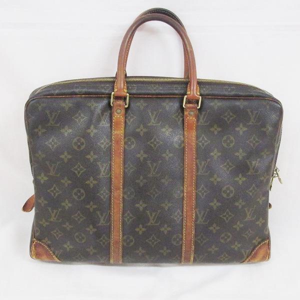 ルイヴィトン Louis Vuitton モノグラム ポルトドキュマン M53361 バッグ ビジネスバッグ メンズ ★送料無料★【中古】【あす楽】