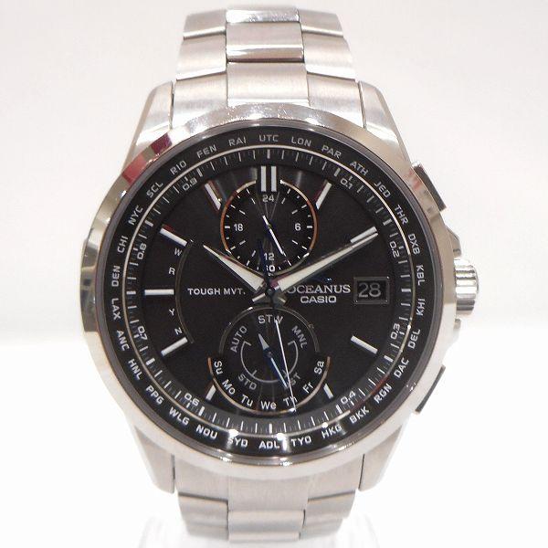 カシオ オシアナス OCW-T2500 ソーラー 電波 時計 腕時計 メンズ ★送料無料★【中古】【あす楽】
