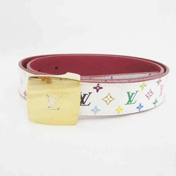 d104f359e8ac  brand  Louis Vuitton  model number  M9682  serial number  LB1015  color   Bronn X gold  material  Monogram multicolored  size  Biggest waist  approximately ...