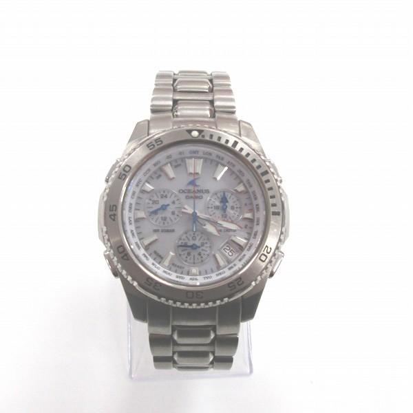 カシオ オシアナス ソーラー チタン OCW-650T 時計 腕時計 メンズ ★送料無料★【中古】【あす楽】