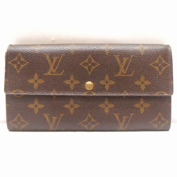 ルイヴィトン Louis Vuitton モノグラム ポルトフォイユサラ M61734 財布 長財布 ★送料無料★【中古】【あす楽】