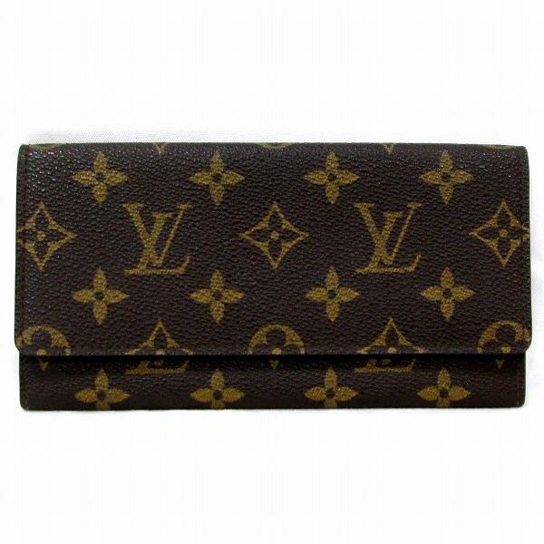 ルイヴィトン Louis Vuitton モノグラム ポルトフォイユ M61818 財布 札入れ ユニセックス ★送料無料★【中古】【あす楽】