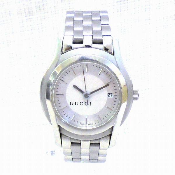 グッチ GUCCI 5500 クォーツ 時計 腕時計 レディース ★送料無料★【中古】【あす楽】