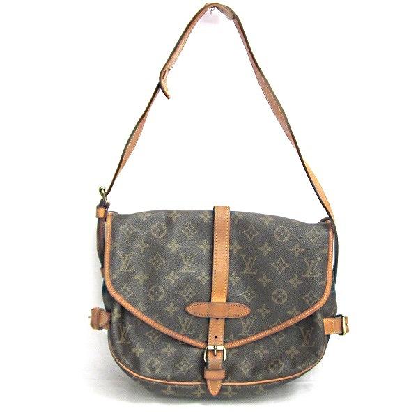 ルイヴィトン Louis Vuitton モノグラム ソミュール M42256 バッグ ショルダーバッグ ★送料無料★【中古】【あす楽】