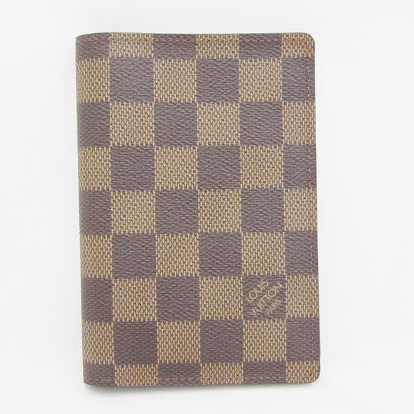 ルイヴィトン Louis Vuitton ダミエ クーヴェルテュール N60189 小物 パスポートカバー ユニセックス ★送料無料★【中古】【あす楽】