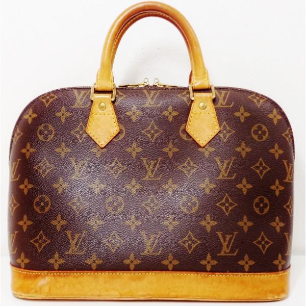 ルイヴィトン Louis Vuitton モノグラム アルマ M51130 バッグ ハンドバッグ レディース ★送料無料★【中古】【あす楽】