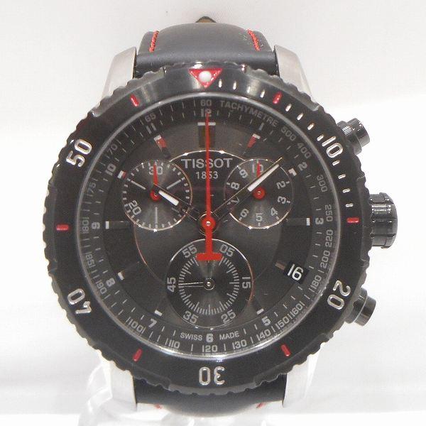 ティソ クロノグラフ 1853 T067417A クォーツ時計 腕時計 メンズ ★送料無料★【中古】【あす楽】