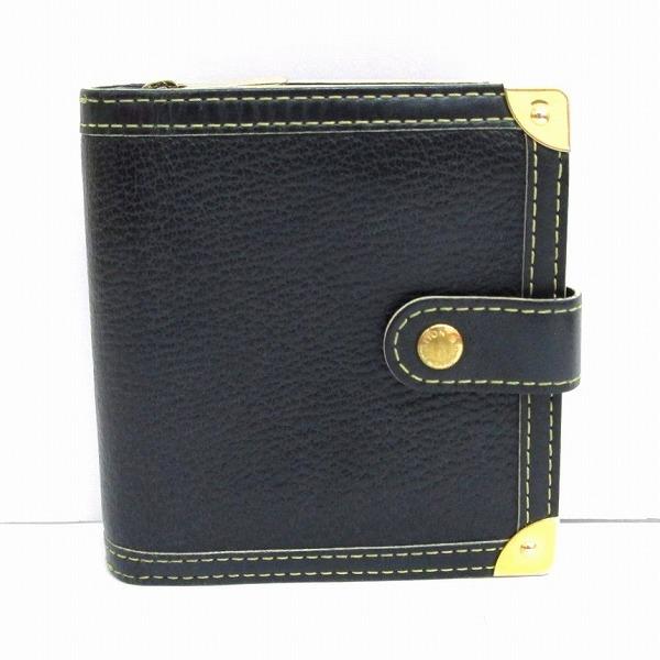 ルイヴィトン Louis Vuitton スハリ コンパクトジップ 二つ折り財布 M91828 ユニセックス ★送料無料★【中古】【あす楽】