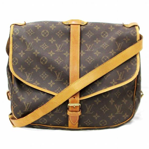 ルイヴィトン Louis Vuitton モノグラム ソミュール35 M42254 バッグ ショルダーバッグ ユニセックス ★送料無料★【中古】【あす楽】