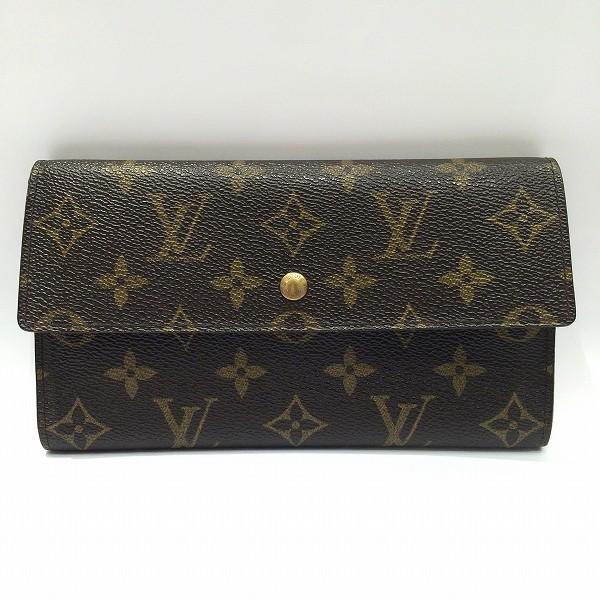 ルイヴィトン Louis Vuitton モノグラム ポルトトレゾールインターナショナル M61215 財布 ★送料無料★【中古】【あす楽】