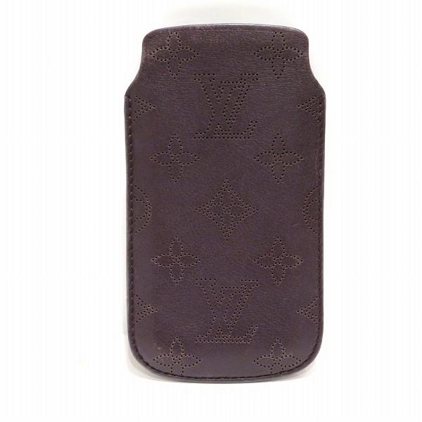 ルイヴィトン Louis Vuitton マヒナ iphone5ケース 携帯ケース ケッチュ M60555 ユニセックス 箱付 小物 ★送料無料★【中古】【あす楽】