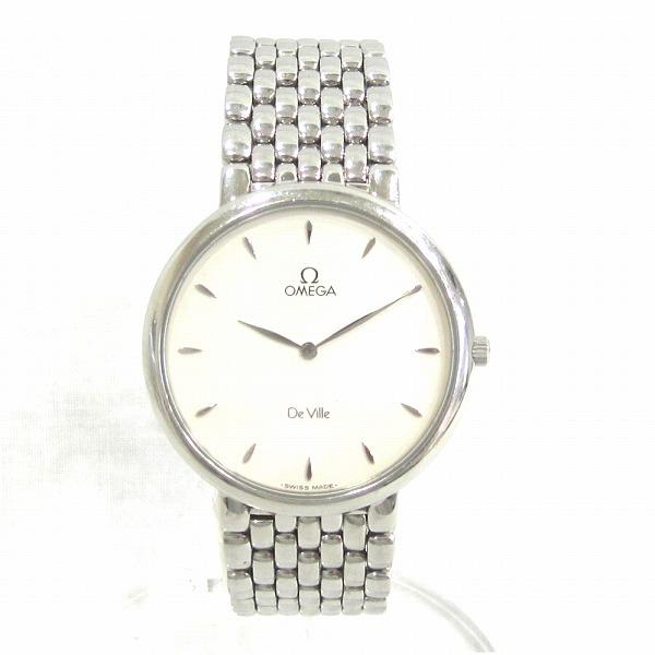 オメガ デビル メンズクォーツ 時計 腕時計 メンズ ★送料無料★【中古】【あす楽】