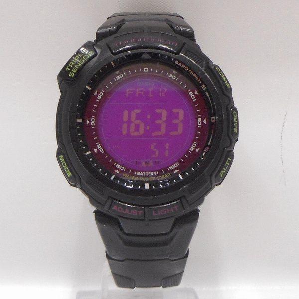 カシオ プロトレック タフソーラー デジタル PRG-110CJ時計 腕時計 メンズ ★送料無料★【中古】【あす楽】