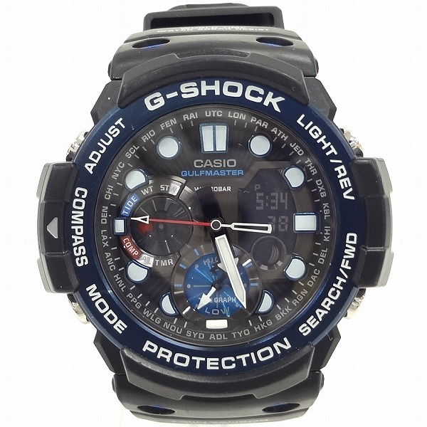 カシオ Gショック ガルフマスター GN‐1000B クォーツ時計 腕時計 メンズ ★送料無料★【中古】【あす楽】