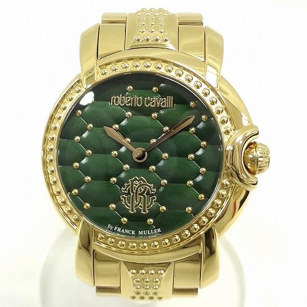 ロベルタカヴァリ RV1L019M0111 クオーツ 時計 腕時計 レディース ★送料無料★【中古】【あす楽】