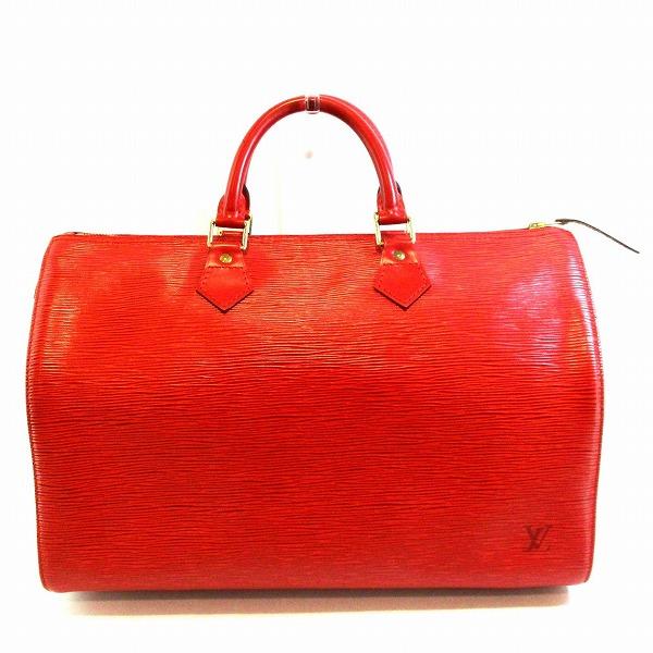 ルイヴィトン Louis Vuitton エピ スピーディ35 赤 M42997 バッグ ハンドバッグ レディース ★送料無料★【中古】【あす楽】