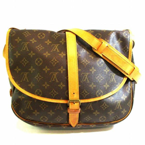 ルイヴィトン Louis Vuitton モノグラム ソミュール35 M42254 バッグ ショルダーバッグ レディース ★送料無料★【中古】【あす楽】