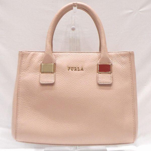フルラ FURLA ピンク レザーバッグ 2wayバッグ レディース ★送料無料★【中古】【あす楽】