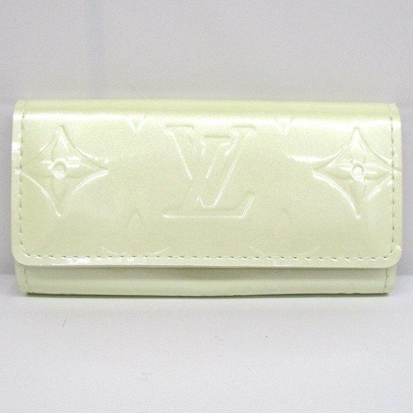 ルイヴィトン Louis Vuitton ヴェルニ ミュルティクレ4 M91360 ブランド小物 キーケース ★送料無料★【中古】【あす楽】