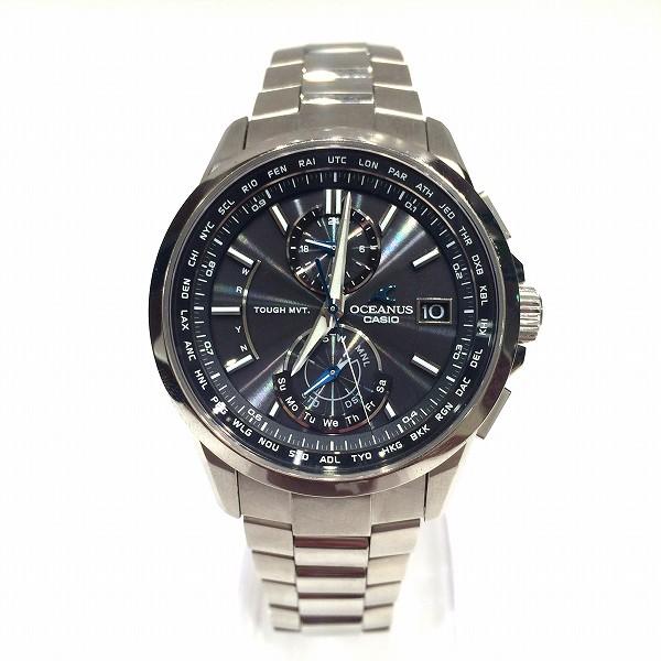 カシオ オシアナス 時計 腕時計 メンズ ★送料無料★【中古】【あす楽】