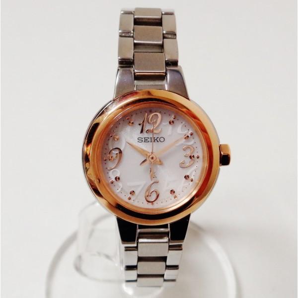 セイコー ルキア V117-0DG0 ソーラー 時計 腕時計 レディース ★送料無料★【中古】【あす楽】