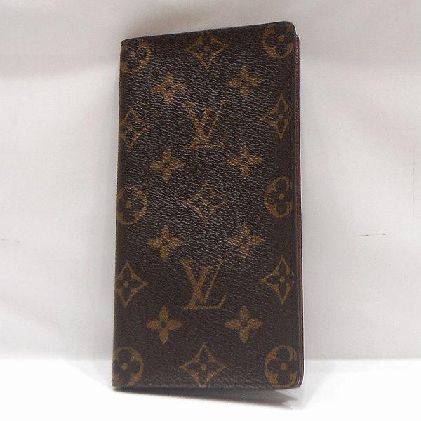 ルイヴィトン Louis Vuitton モノグラム ポルトカルトクレディ M60825 財布 長財布 メンズ ★送料無料★【中古】【あす楽】