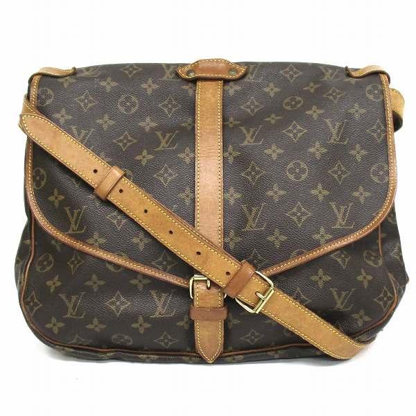ルイヴィトン Louis Vuitton モノグラム ソミュール35 M42254 バッグ ショルダーバッグ ★送料無料★【中古】【あす楽】