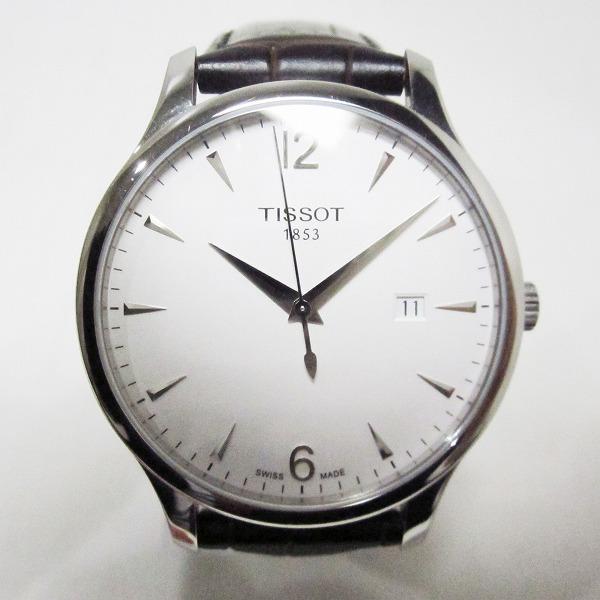 ティソ T063610 クォーツ 時計 腕時計 メンズ ★送料無料★【中古】【あす楽】