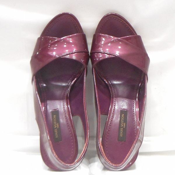 ルイヴィトン Louis Vuitton パープル 靴 サンダル レディース 小物 ★送料無料★【中古】【あす楽】