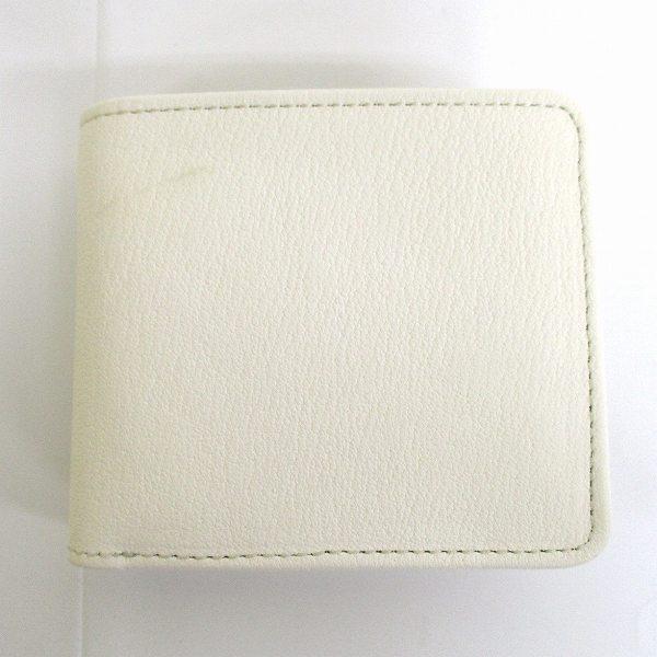 コルボ レザー オフホワイト 財布 二つ折り財布 メンズ ★送料無料★【中古】【あす楽】