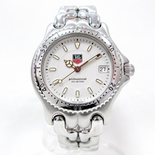 タグホイヤー プロフェッショナル 200M WG1212-K0 時計 腕時計 ボーイズ クオーツ 白文字盤 ★送料無料★【中古】【あす楽】
