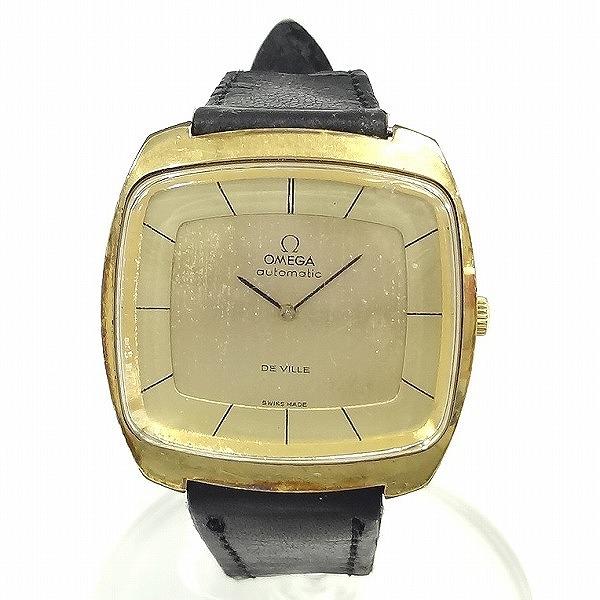 オメガ デビル ゴールド 自動巻き 腕時計 メンズ ★送料無料★【中古】【あす楽】
