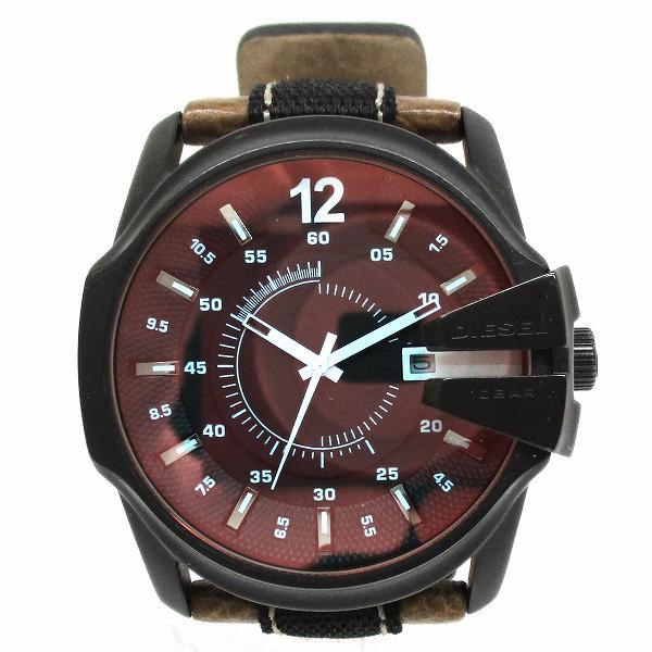 ディーゼル DZ1600 クォーツ レザー 時計 腕時計 メンズ ★送料無料★【中古】【あす楽】