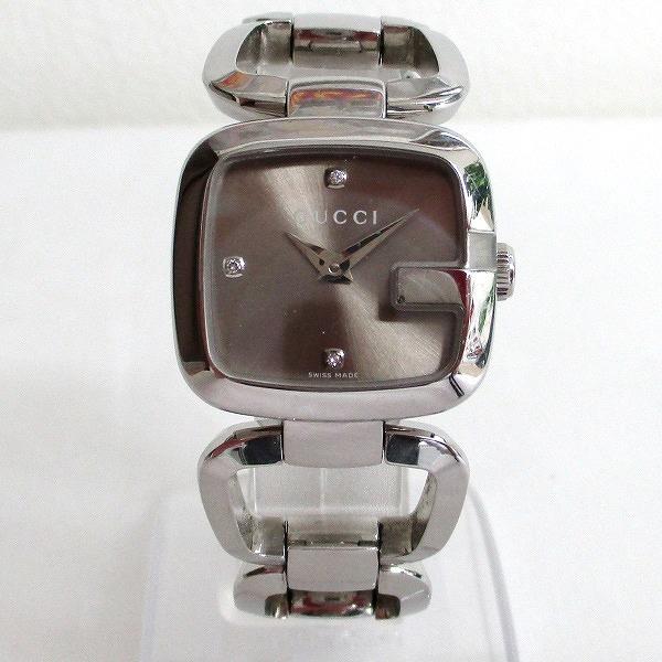 7a79c6e5aa5  brand  Gucci  brand name  G square 3P diamond bracelet watch  model  number  YA125503  movement  quartz  materials  SS