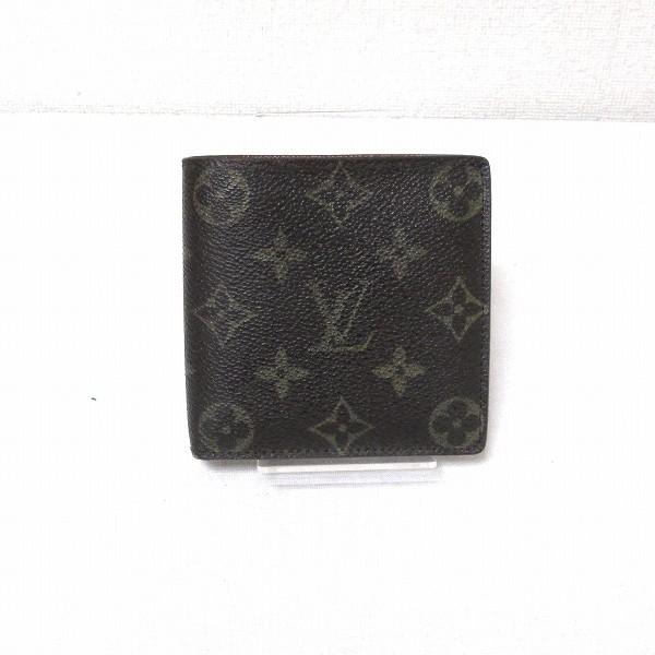 ルイヴィトン Louis Vuitton モノグラム ポルトフォイユ マルコ M62288 二つ折り財布 ★送料無料★【中古】【あす楽】