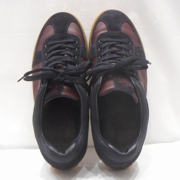 ルイヴィトン Louis Vuitton スニーカー ブラウン系 靴 メンズ 小物 ★送料無料★【中古】【あす楽】