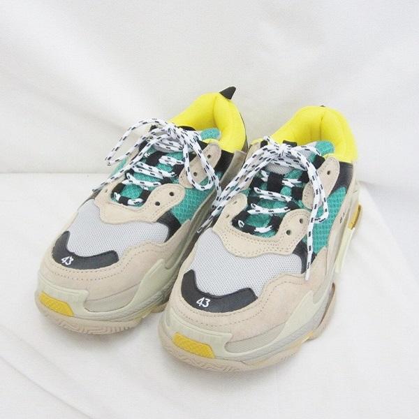 バレンシアガ トリプルエス サイズ43 靴 スニーカー メンズ 小物 ★送料無料★【中古】【あす楽】