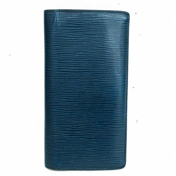 ルイヴィトン Louis Vuitton M60616 エピ ポルトフォイユ.ブラザ 2つ折り 財布 長財布 メンズ ★送料無料★【中古】【あす楽】