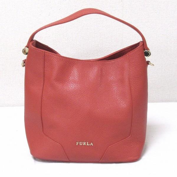 フルラ FURLA 2way レザー バッグ トートバッグ レディース ★送料無料★【中古】【あす楽】