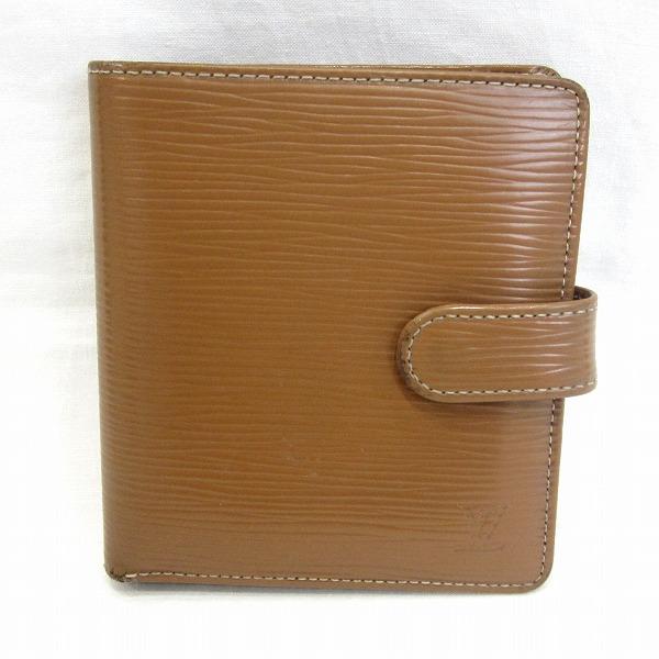 ルイヴィトン Louis Vuitton エピ ポルトビエ M63551 キャメル 財布 二つ折り財布 ユニセックス ★送料無料★【中古】【あす楽】
