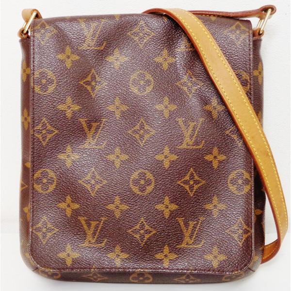 ルイヴィトン Louis Vuitton モノグラム ミュゼットサルサ M51258 バッグ ショルダーバッグ レディース ★送料無料★【中古】【あす楽】