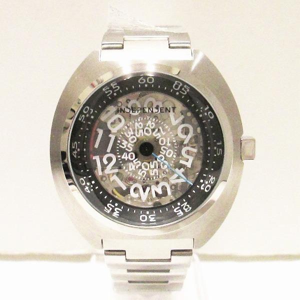 シチズン インディペンデント スケルトン BJ3-411-91 自動巻き 時計 腕時計 メンズ 未使用 ★送料無料★【中古】【あす楽】