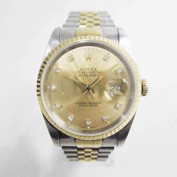 ロレックス デイトジャスト 16233G L番 自動巻 時計 腕時計 メンズ ★送料無料★【中古】【あす楽】