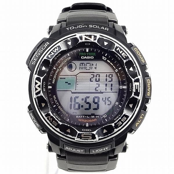 カシオ G-SHOCK プロトレック PRW-2500 電波ソーラー 時計 腕時計 メンズ ★送料無料★【中古】【あす楽】